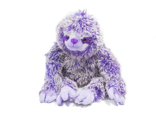 Light Purple  Sloth Plush