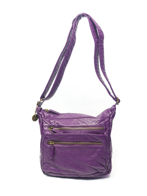 Soft Purple  Cross Body Bag