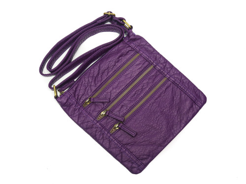 Flat Soft Cross Body Bag