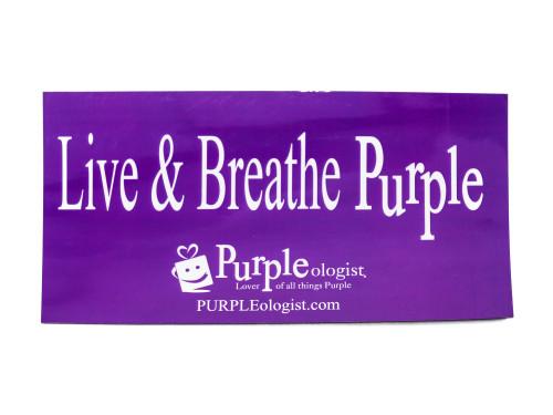 Live and Breathe Purple