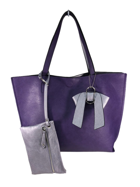 Royal Purple Fashion Tote
