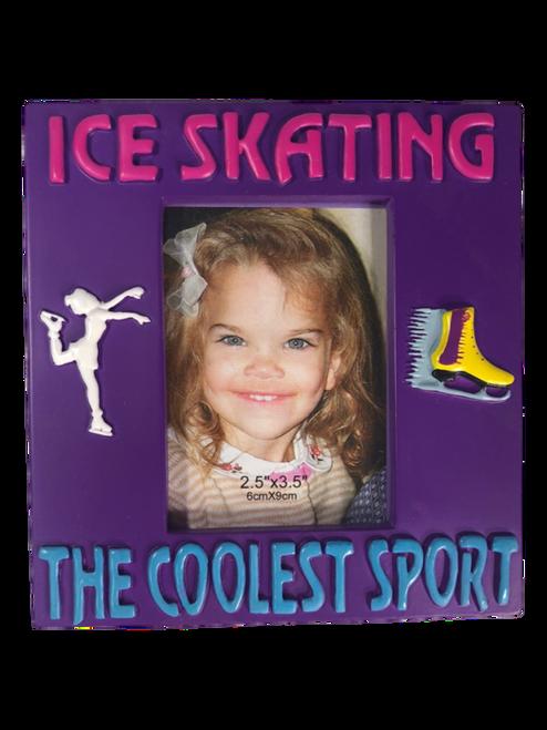 Ice Skating Memory Frame