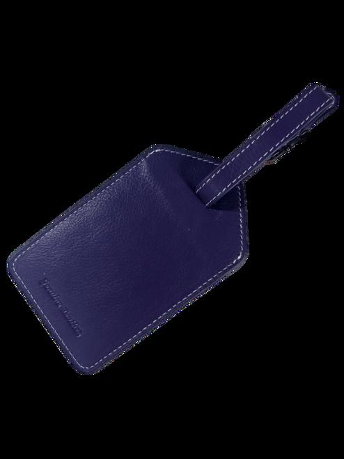 Solid Purple Luggage Tag