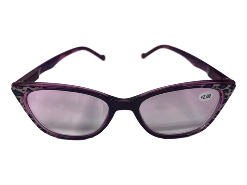 Funky Print Purple Readers