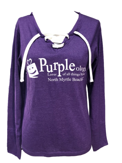 Lover of All Things Purple Pullover