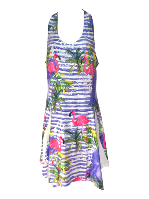 Adult Flamingo Crossback Dress