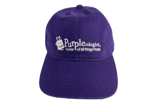 Purple Logo Baseball Cap