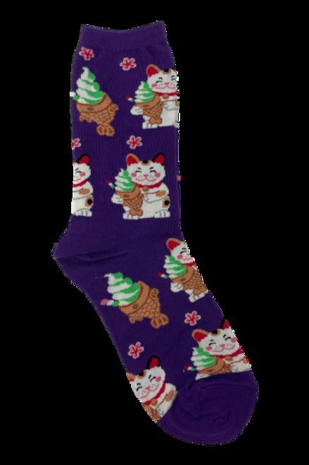 Taiyaki Cat Socks