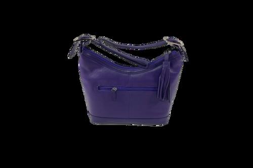 Purple Hobo Tassel Bag