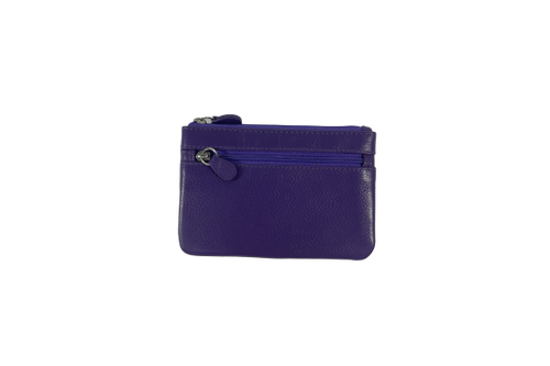 Purple Mini Coin Purse