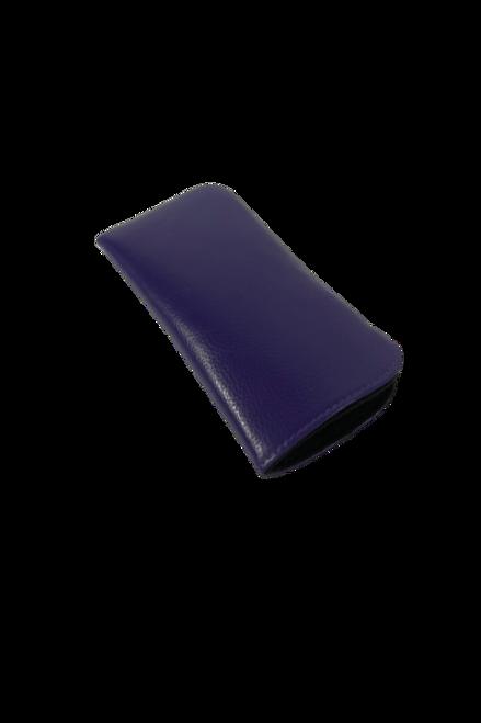 Solid Purple Eyeglass Case
