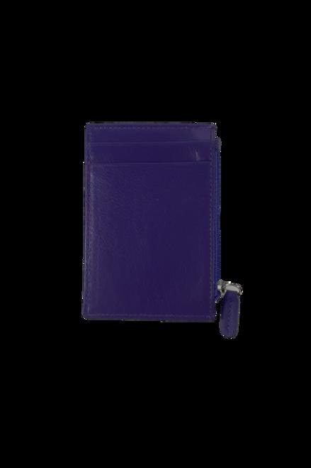 Royal Purple ID Card Holder