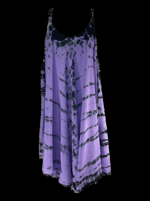 Spaghetti Strap Tie Dye Cover Dress