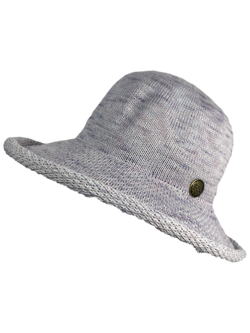 Rolled Brim Sun Protection Hat