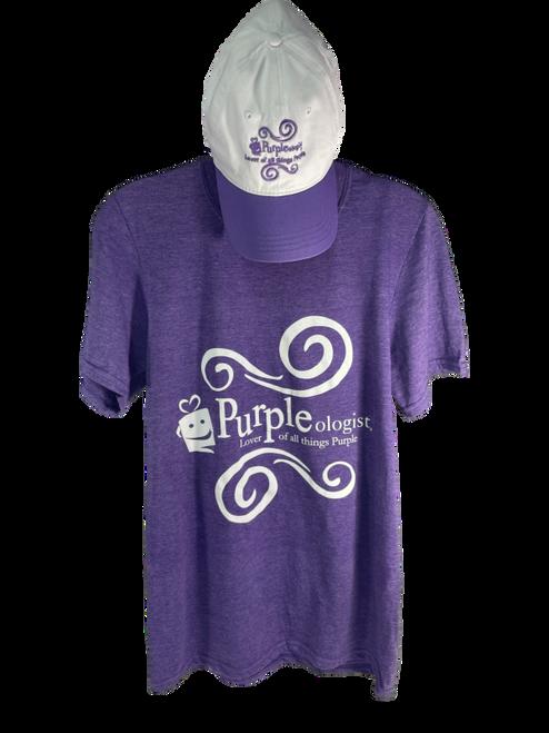 Lilac Cap and T-Shirt Combo