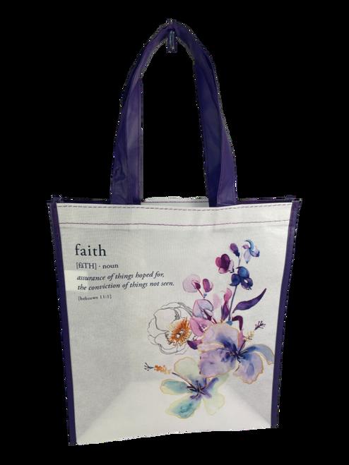 Floral Faith Tote