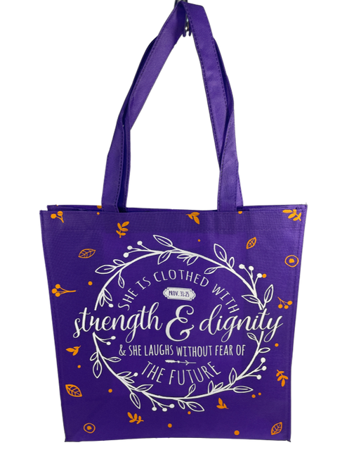 Strength and Dignity Tote