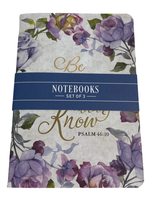 Christian Art Notebook Set of Three
