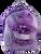 Purple Sea Turtle Pal Plush Backpack