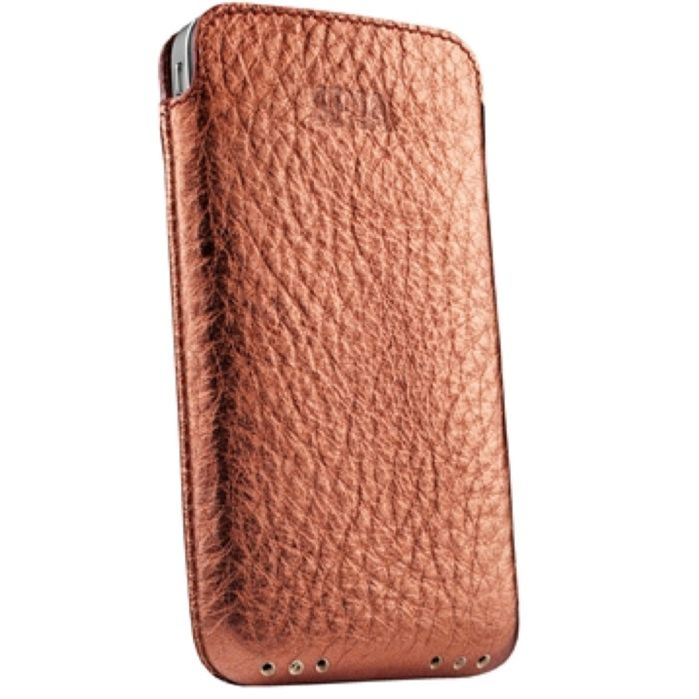 premium selection 8b8f3 a7b98 Sena UltraSlim Genuine Leather Pouch for iPhone 4 / 4S - Copper
