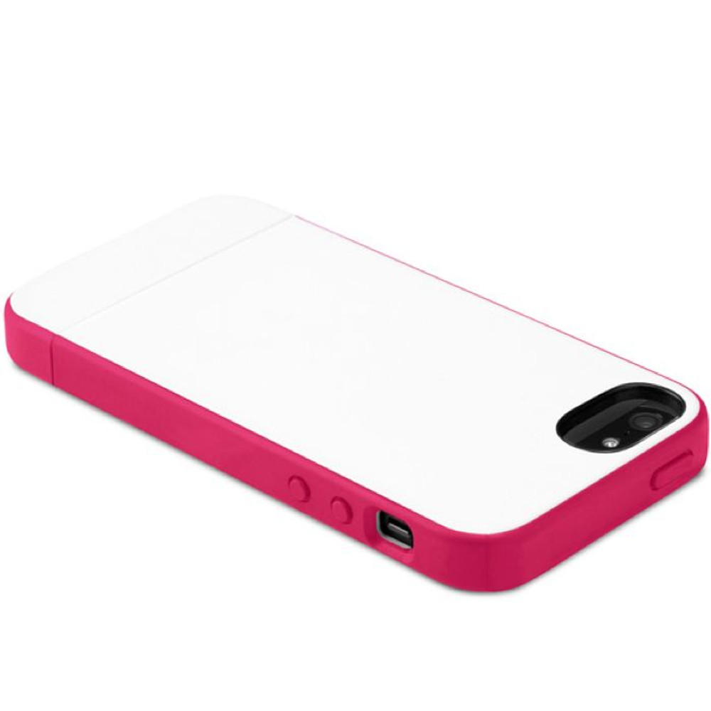 3d8b83dac7a3c Incase Pro Slider Case for iPhone 5S   5 - White   Raspberry -  outfitYOURS.com