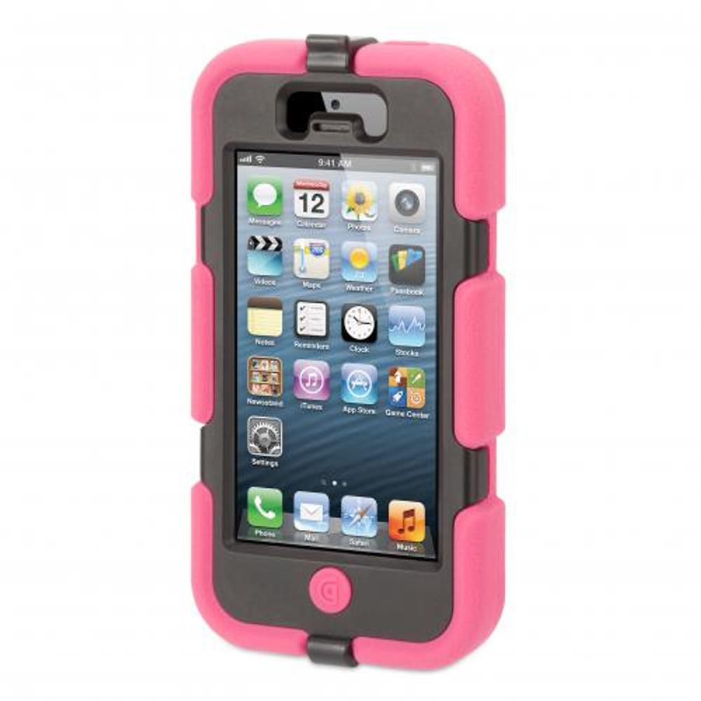 wholesale dealer 26aec 51702 Griffin Survivor for iPhone 5S / 5 - Pink / Black