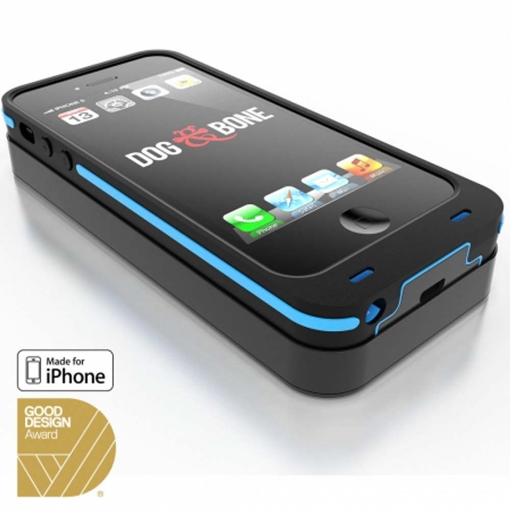 buy online 7dccc d43aa Dog & Bone Wireless Charging Case + Pad for iPhone 5S / 5 - Blue