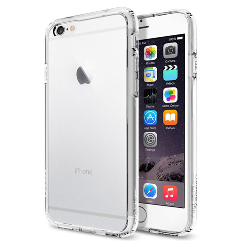 new styles 2ab4a b8ff6 Spigen Ultra Hybrid Slim Case for iPhone 6 Plus - Crystal Clear