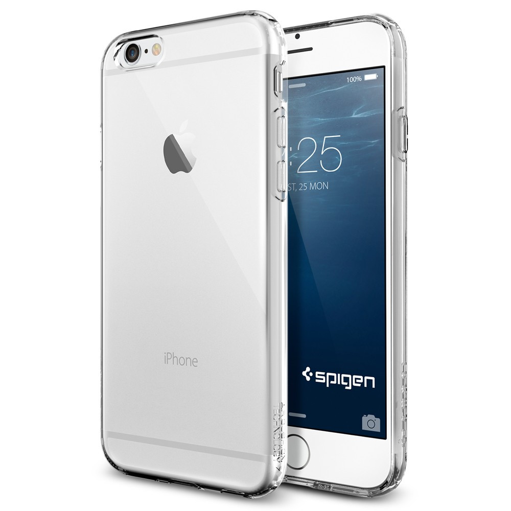 save off d3be3 f9b47 Spigen Capsule Case for iPhone 6 - Crystal Clear