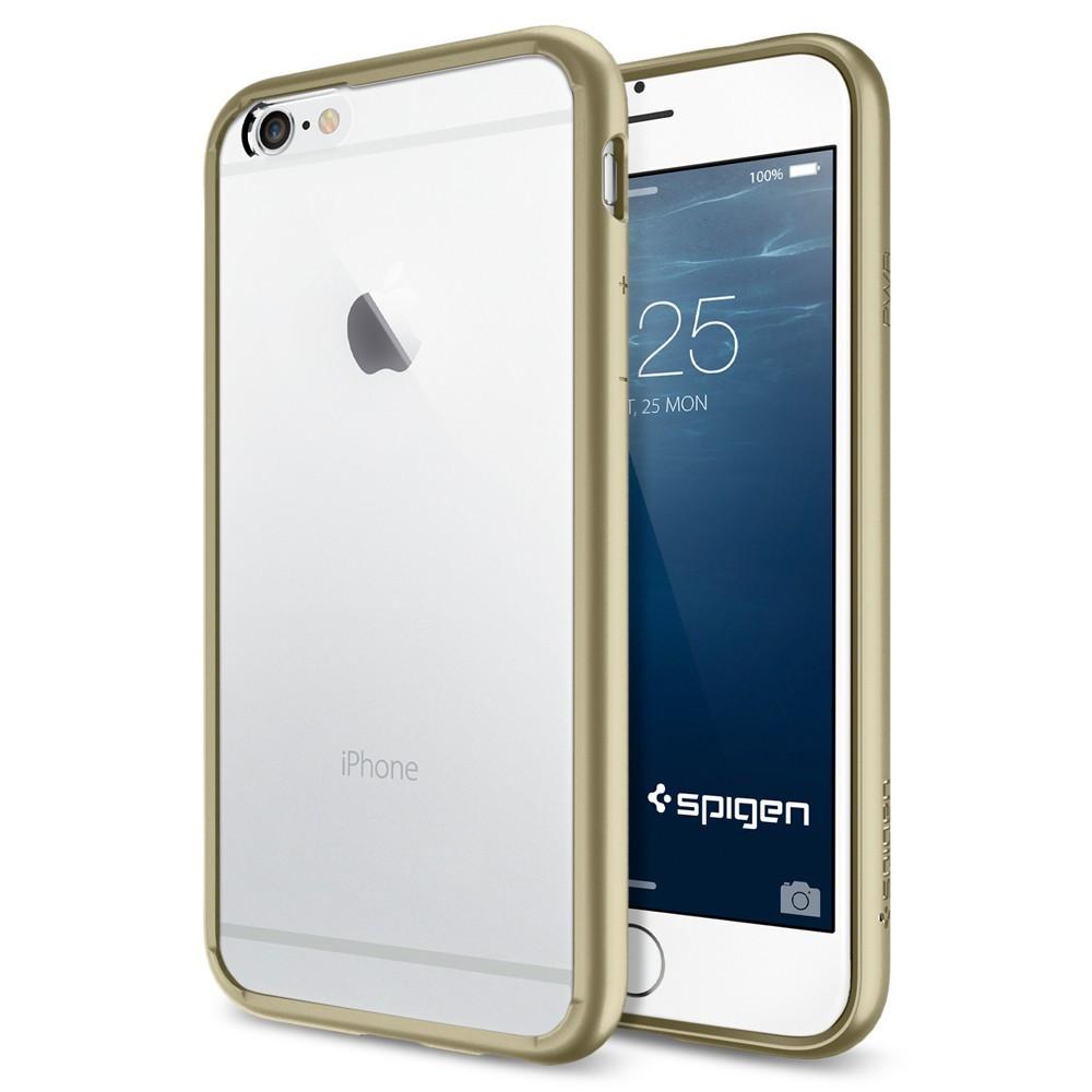 quality design 2d1b2 02780 Spigen Ultra Hybrid Case for iPhone 6 - Champagne Gold