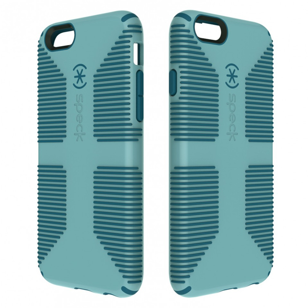 new products 2eb30 14d39 Speck CandyShell Grip Case for iPhone 6S / 6 - River Blue / Tahoe Blue