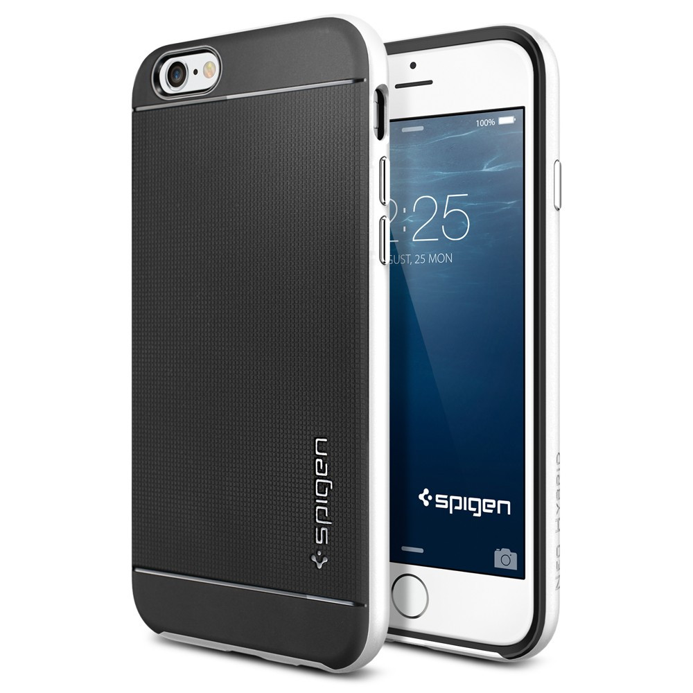 premium selection 4266b b5f22 Spigen Neo Hybrid iPhone 6 Case - Infinity White