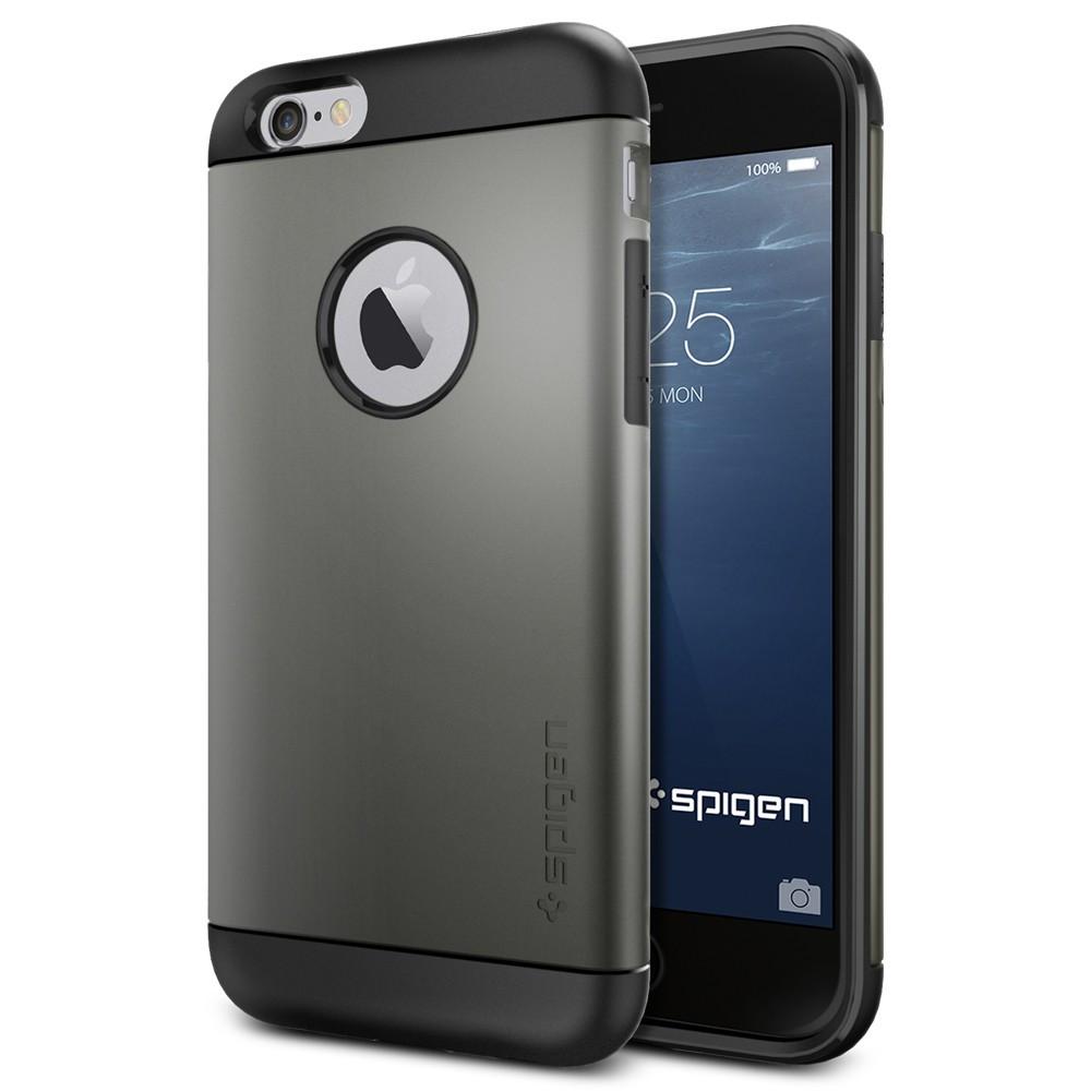 the latest e39f0 fb6b8 Spigen Slim Armor Case for iPhone 6S / 6 - Gunmetal
