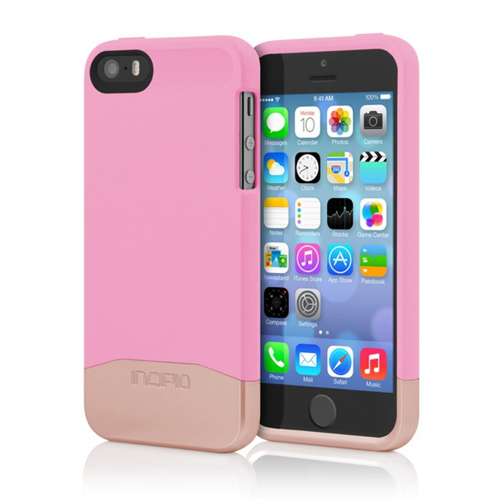 sports shoes be88c 213cc Incipio Edge Chrome Slider Case for iPhone 5S / 5 - Pink / Rose Gold