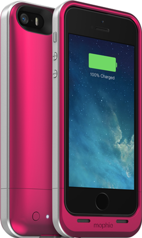 brand new d5c37 4ebb9 mophie juice pack air for iPhone 5S / 5 - pink