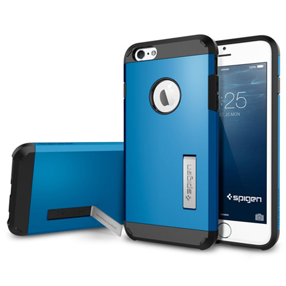buy online 011f4 601d0 Spigen Tough Armor for iPhone 6S Plus / 6 Plus - Electric Blue