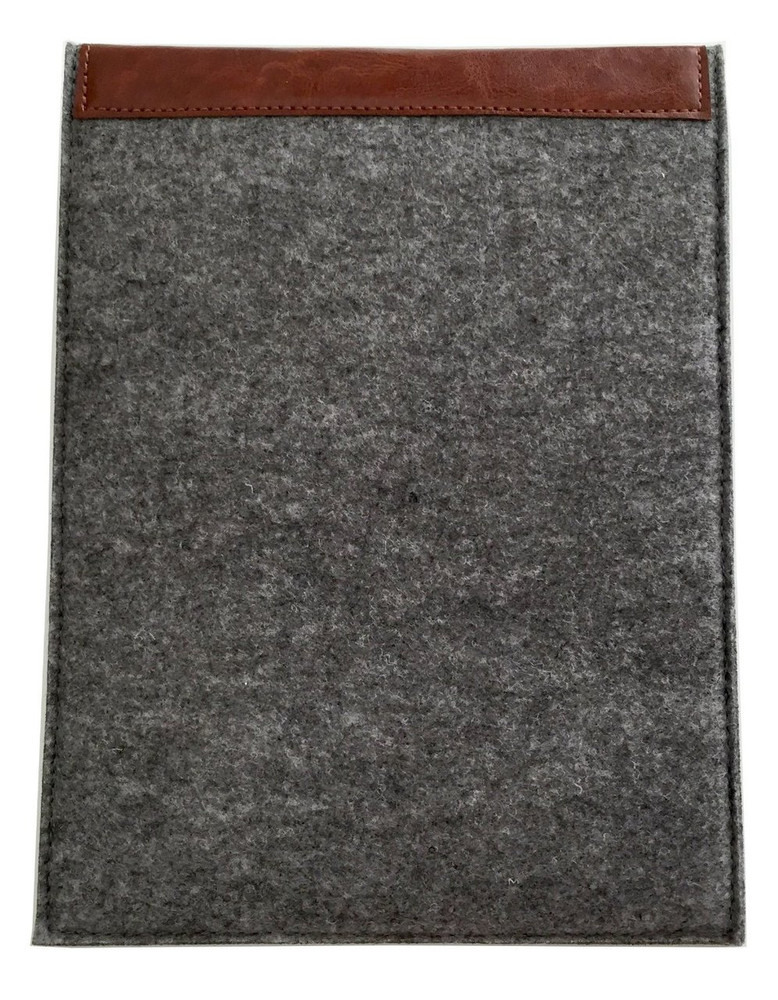 Den Slim Sleeve for iPad Air / iPad Air 2 - Gray / Leather