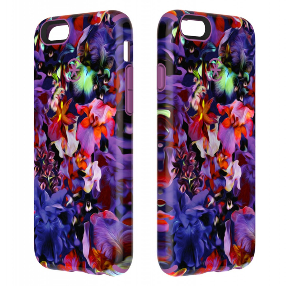 new style b7924 fe0b3 Speck CandyShell Inked iPhone 6S / 6 Case - Lush Floral / Beaming Orchid