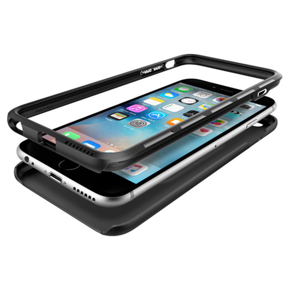 check out 88d13 f71e0 Spigen Thin Fit Hybrid iPhone 6S Plus / 6 Plus Case - Black