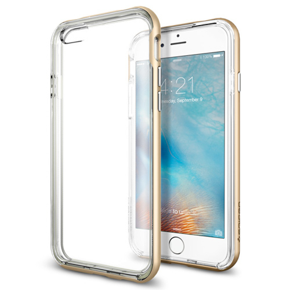 huge discount 6d29d 4b863 Spigen Neo Hybrid Ex iPhone 6S Plus / 6 Plus Case - Champagne Gold