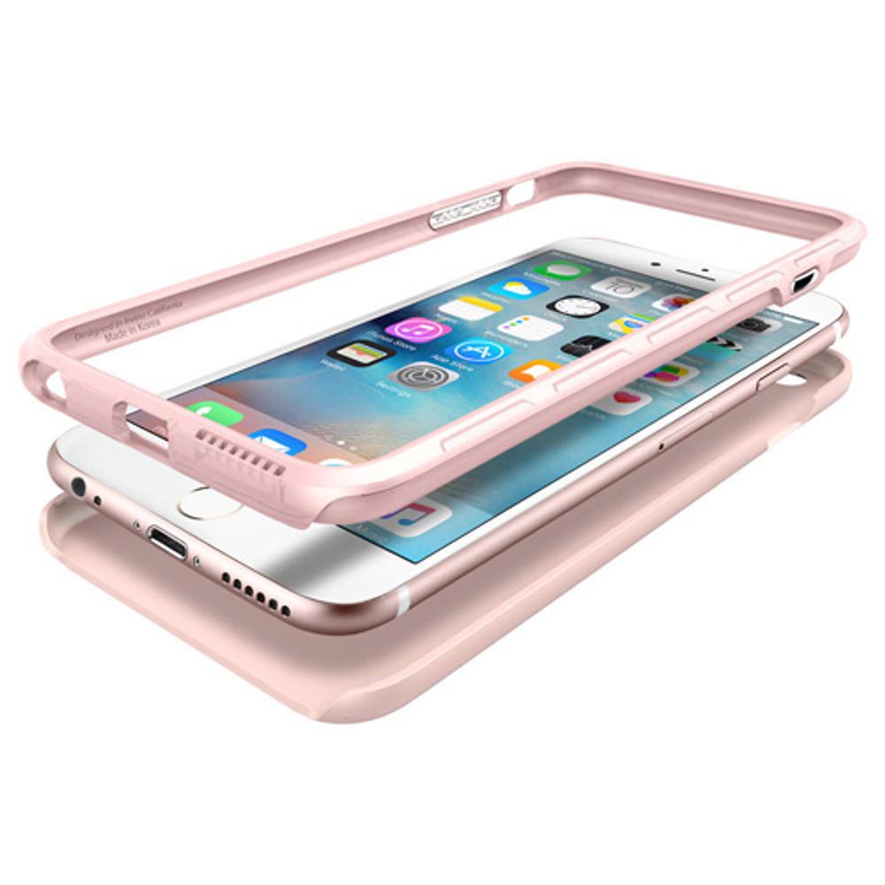 newest collection dd64c 5638b Spigen Thin Fit Hybrid iPhone 6S Plus / 6 Plus Case - Rose Gold