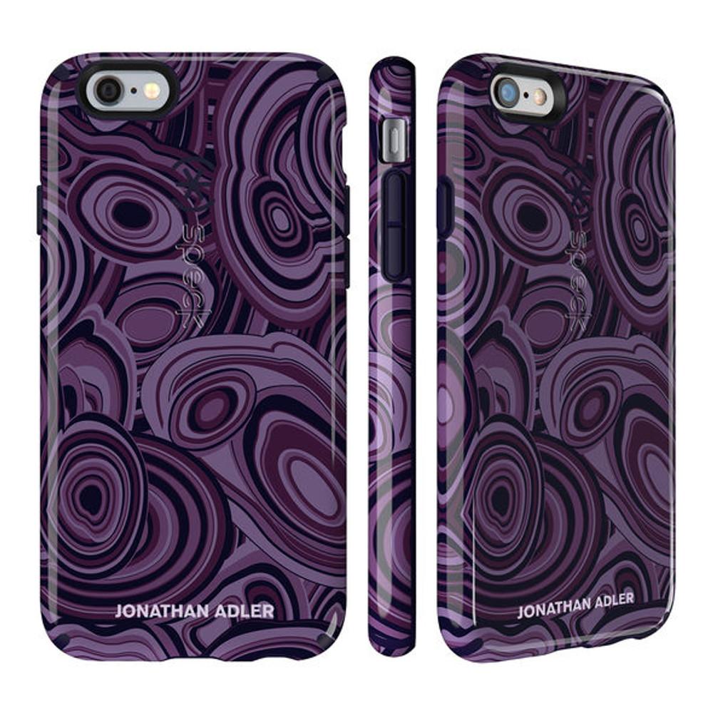 1ec1da13284513 ... CandyShell Inked iPhone 6S   6 Case - Jonathan Adler Malachite Purple    BerryBlack Glossy ·  http   d3d71ba2asa5oz.cloudfront.net 12015324 images 73990-