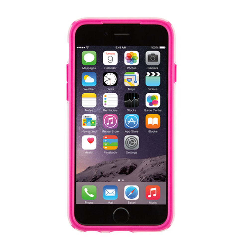 432be29f9ae9a3 Speck CandyShell iPhone 6S   6 Case - Carnation Pink   Lipstick Pink -  outfitYOURS.com