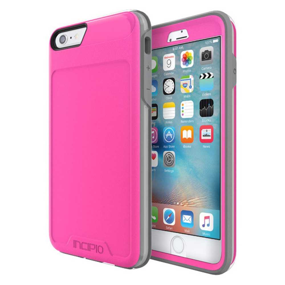 Incipio Performance Rugged Case for iPhone 6S Plus / 6 Plus - Pink / Gray