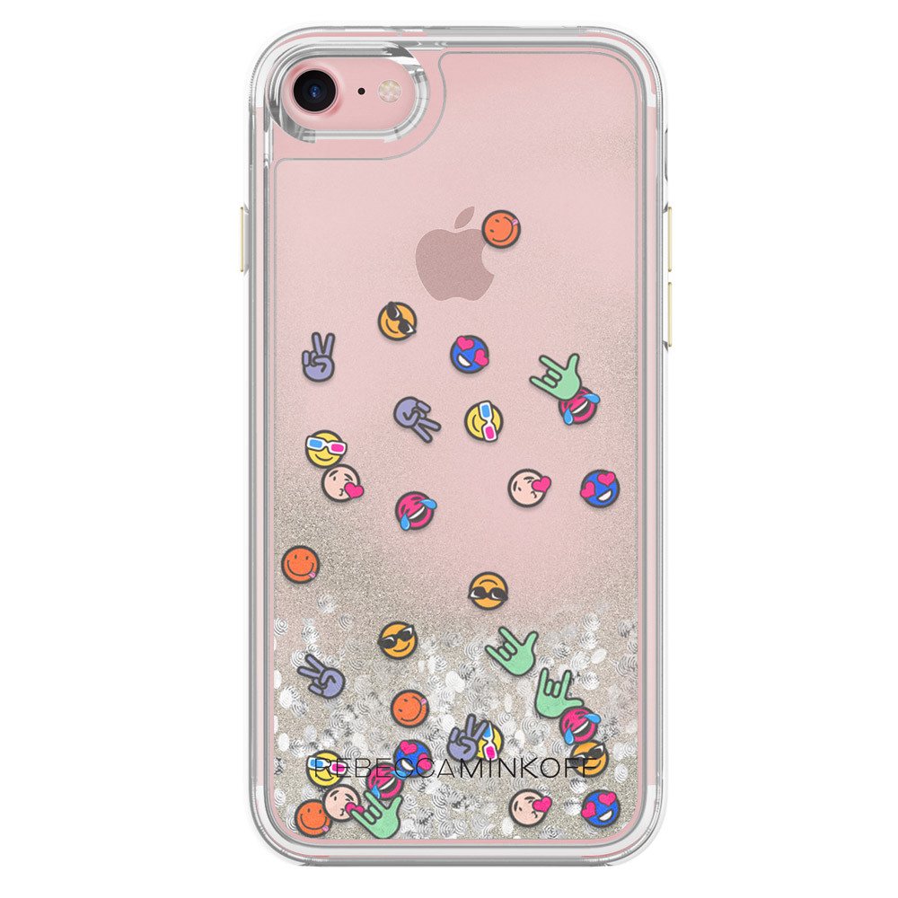 Rebecca Minkoff Glitterfall Case for iPhone 7 - Emojis