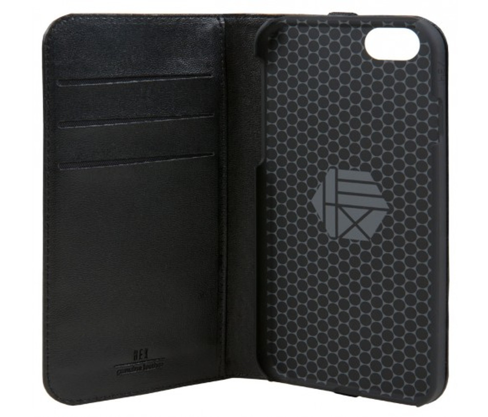 Hex Icon Wallet for iPhone 7 - Vachetta