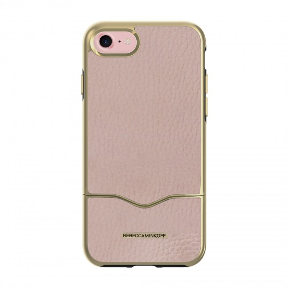 Rebecca Minkoff The Slide Case for iPhone 7 - Nude Leather