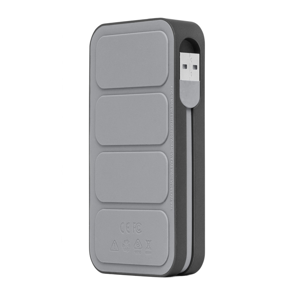Incase Portable Power 5400 - Metallic Gray