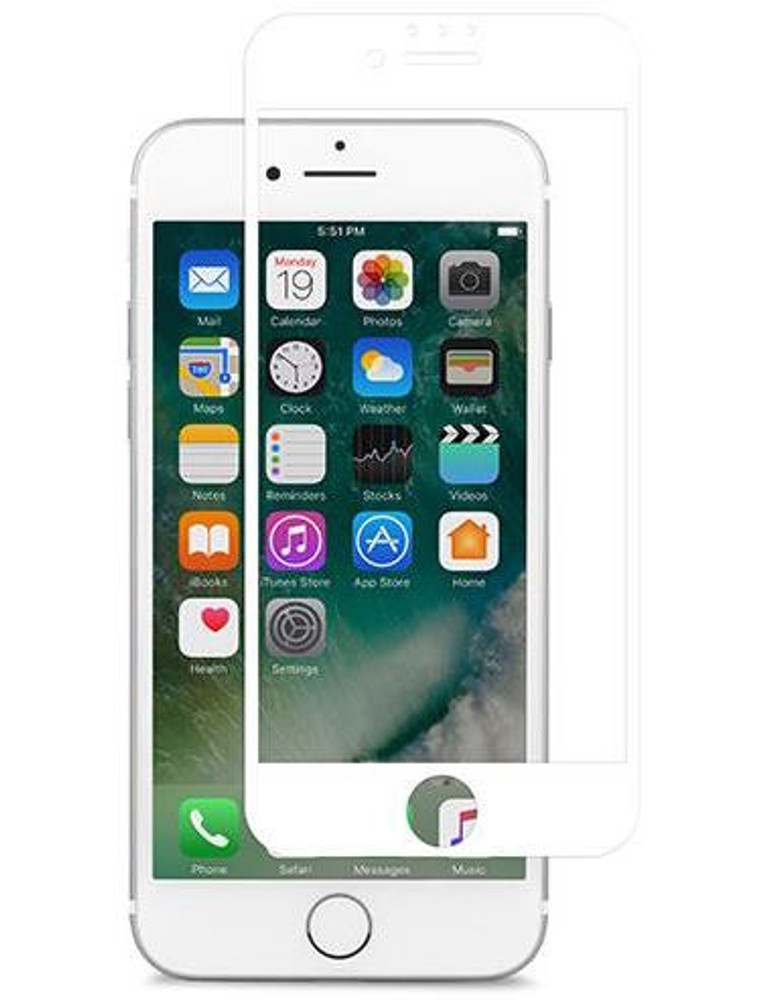 online store 5f8bd 58dab Moshi iVisor AG Anti Glare Screen Protector for iPhone 7 - White