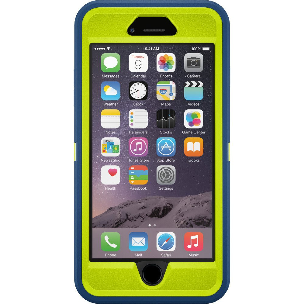 OtterBox Defender Series Case for iPhone 6 Plus - Electric Indigo - 77-51475